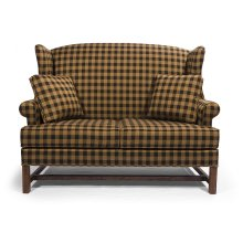 High Back Settee-Two Seat Cushion