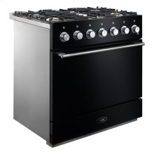 "Gloss Black 36"" AGA Mercury Dual Fuel Range"