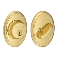 Single Cylinder Deadbolt with Wakefield trim - Satin Nickel