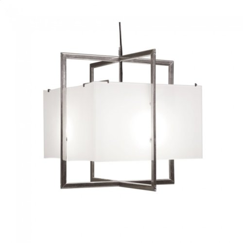 Cube Chandelier - Flat Box - C400FB Silicon Bronze Brushed