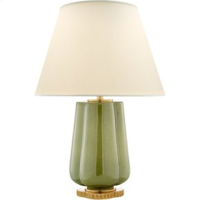 Visual Comfort AH3125GRN-PL Alexa Hampton Eloise 26 inch 60 watt Green Porcelain Table Lamp Portable Light