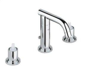 """Chrome Three-hole basin mixer 1/2"""" S-Size Product Image"""