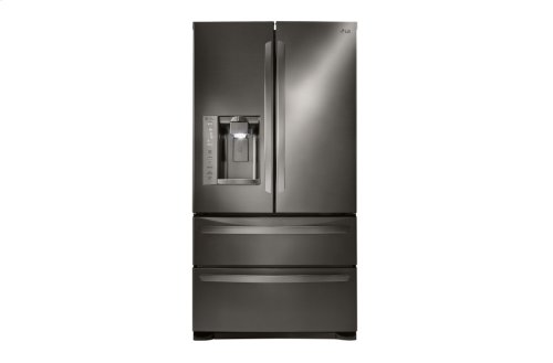 LG Black Stainless Steel 27 cu. ft. Ultra Capacity 4-Door French Door Refrigerator