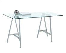 Ackler Writing Desk - Stainless Steel