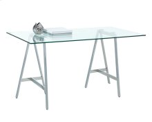 Ackler Writing Desk - Stainless Steel