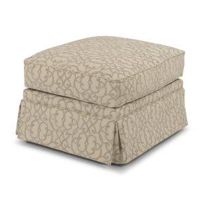 FLEXSTEELCamilla Fabric Ottoman
