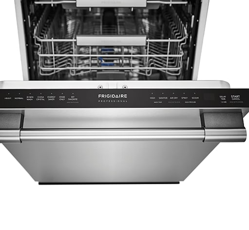 fpid2498sf frigidaire professional professional professional 24 39 39 built in dishwasher with. Black Bedroom Furniture Sets. Home Design Ideas