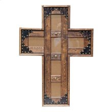 4x6 Med. Cross Picture Frame