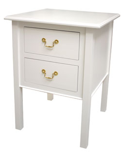 Two Drawer Side Table 171