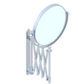 Extending Shaving Mirror 2 Faces/1 Magnified Diameter : 200 Mm