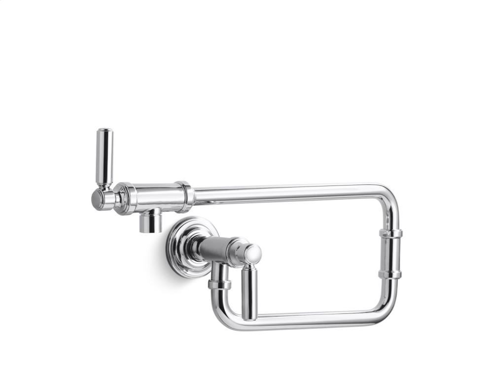 Wall-Mount Pot Filler - Brushed Nickel