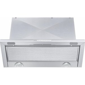 MieleDA 3466 Built-in ventilation hood with energy-efficient LED lighting and backlit controls for easy use.