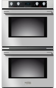 """Stainless Steel 30"""" Electric Self Cleaning Double Wall Oven"""
