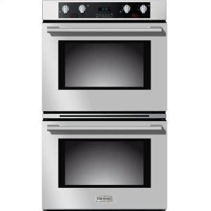 "VeronaStainless Steel 30"" Electric Self Cleaning Double Wall Oven"