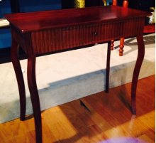 Cherry Console with Drawer