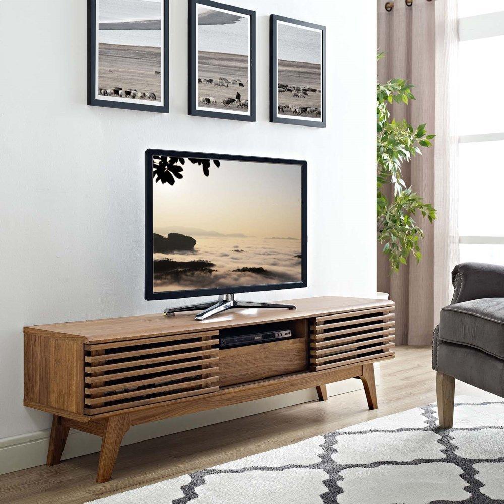 """Render 59"""" TV Stand in Walnut"""