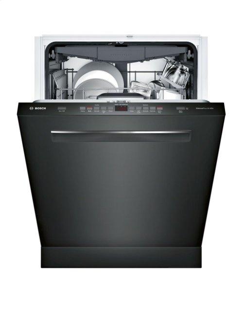 "500 Series 24"" Pocket Handle Dishwasher SHP865WF6N Black"