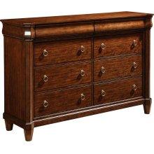 Aryell Drawer Dresser, Autumn Cherry