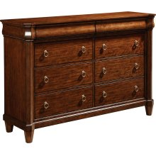 Aryell Drawer Dresser, Autumn Cherry