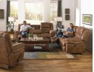 """""""Lay Flat"""" Recl Sofa w/DDT - Almond Product Image"""