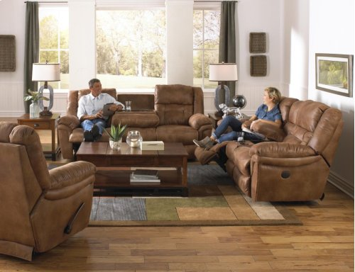 "Power ""Lay Flat"" Recliner - Slate"