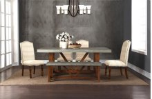 Bohemian Upholstered Side Chair