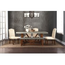 Bohemian Cement 42x78 Table Top