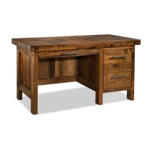 Rafters Single Pedestal Executive Desk