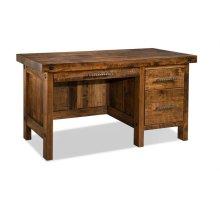 Rafters Single Pedestal Executive Desk