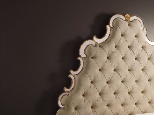Sanctuary California King Tufted Bed - Bling