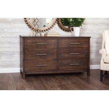 "Auburn Bay 6-Drawer Dresser, 65"""