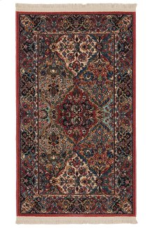 Multicolor Panel Kirman - Rectangle 2ft 6in x 4ft 3in