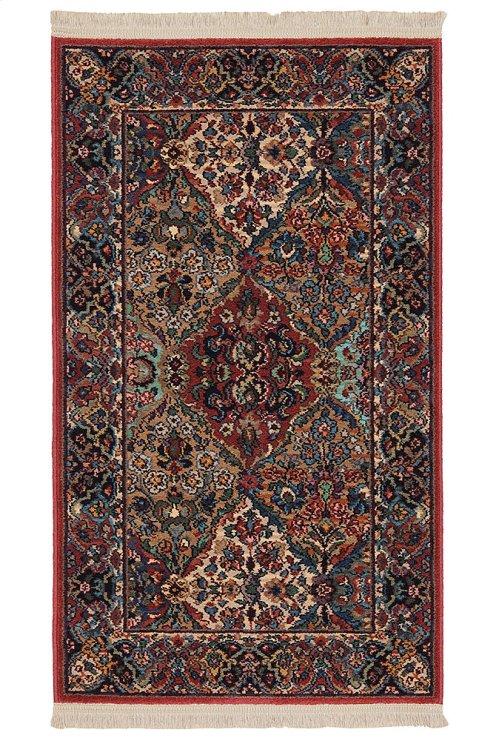 Multicolor Panel Kirman - Rectangle 2ft 6in x 4ft 3in