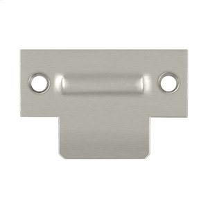 """T-Strike For RCA430, 2-3/4"""" X 1-3/4"""" - Brushed Nickel"""