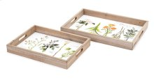 Gardenia Decorative Trays - Set of 2
