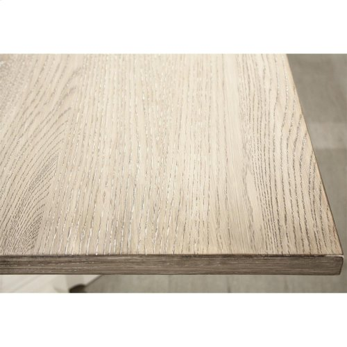 Myra - Rectangular Dining Table Top - Natural/paperwhite Finish