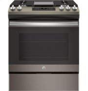 """GE® 30"""" Slide-In Front Control Gas Range Product Image"""