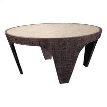 Walnut Purveyor Round Cocktail Table