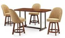 Table Top: Square Round (walnut) Product Image