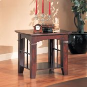 Abernathy Cherry End Table