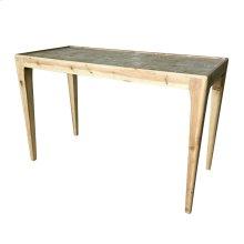 Adagio Checkered Console Table, Natural