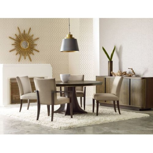 Camby Round Dining Table Complete