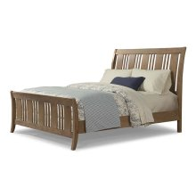 Camden Storage Sleigh Bed