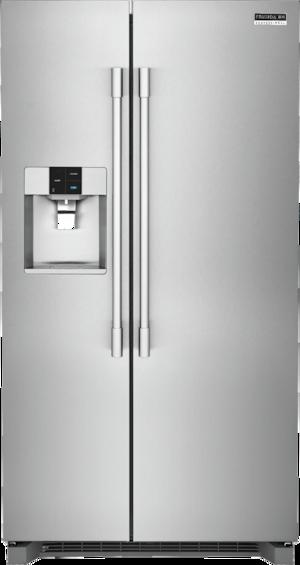 Frigidaire Pro 22.0 Cu. Ft. Counter-Depth Side-By-Side Refrigerator