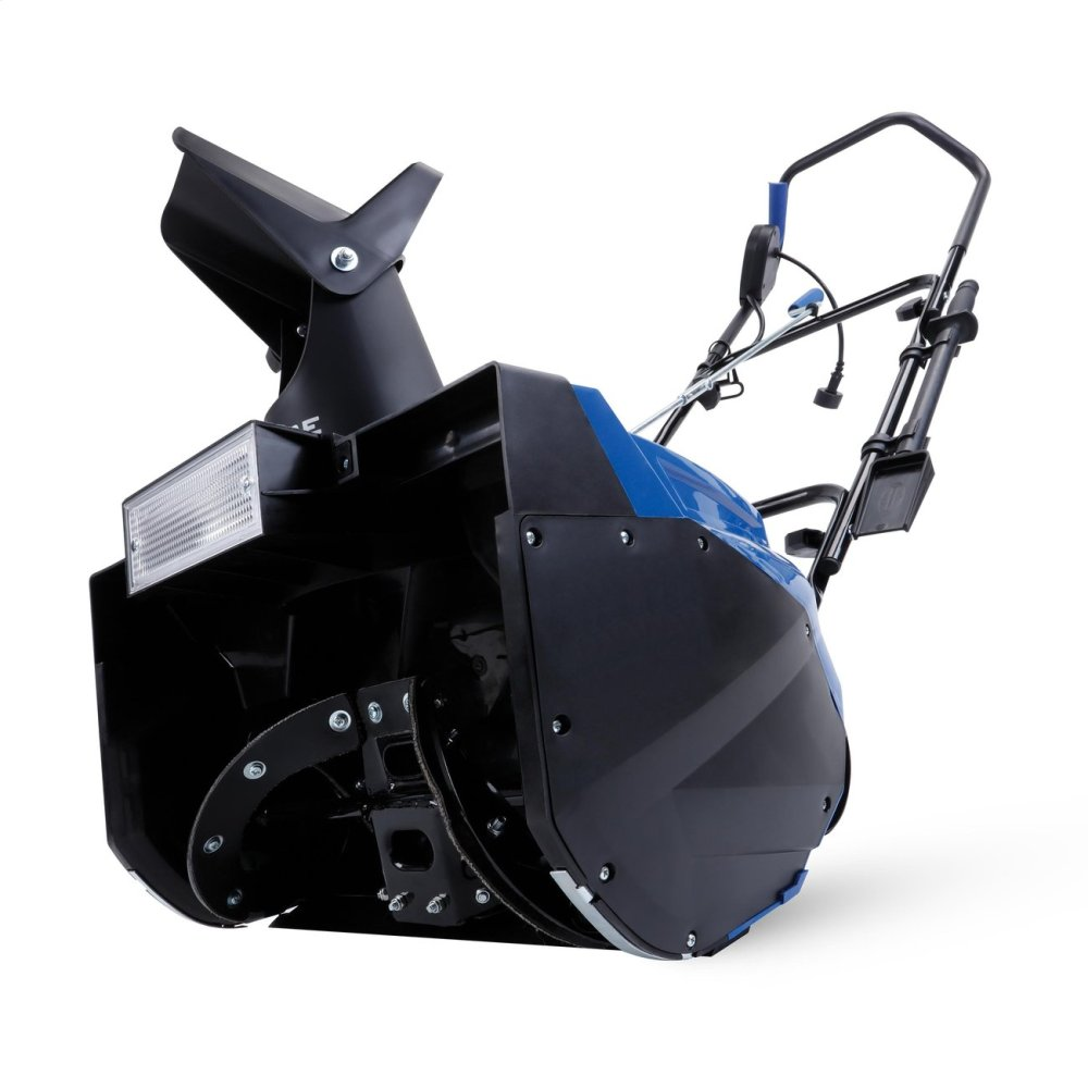 Snow Joe SJ623E Electric Single Stage Snow Thrower  18-Inch  15 Amp Motor  Headlights
