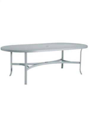 "Boulevard 84"" x 42"" Oval Dining Umbrella Table"