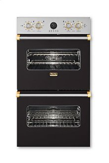 "27"" Double Custom Electric Premiere Oven, Brass Accent"