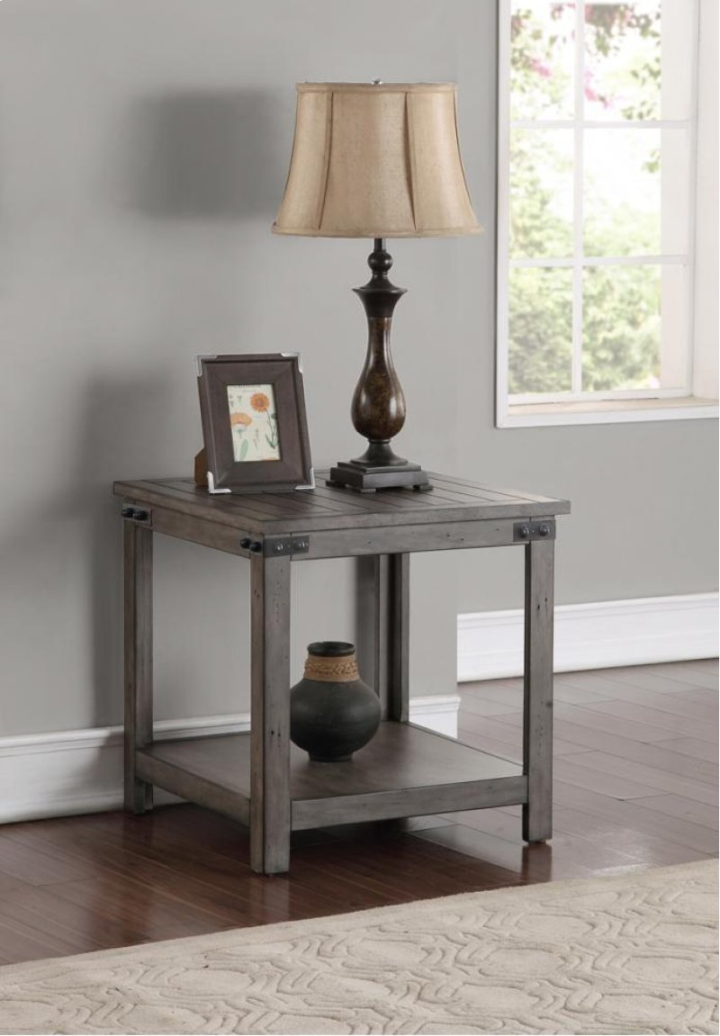 Storehouse end table hidden