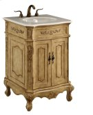 24 in. Single Bathroom Vanity set in Antique Beige Product Image