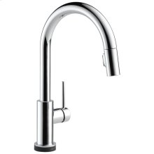 Chrome Single Handle Pull-Down Kitchen Faucet with Touch 2 O ® Technology